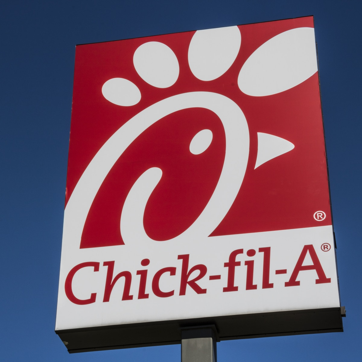 Chick-fil-A sign